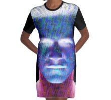 Martian boy Graphic T-Shirt Dress