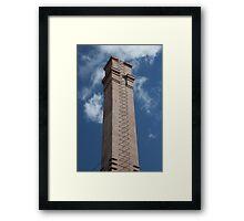 vertical smokestack Framed Print