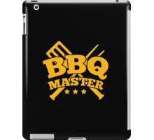 BBQ MASTER iPad Case/Skin