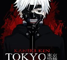 Kaneki Ken - White Haired Masked by 666hughes