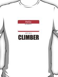 I am a climber T-Shirt