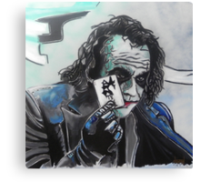 The Joker's Wild Canvas Print