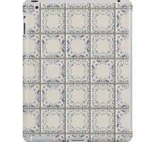 Blue and White Tile iPad Case/Skin