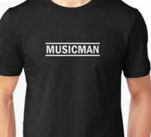 Musicman (white) Unisex T-Shirt