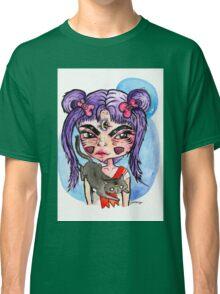 grumpy sailor moon Classic T-Shirt