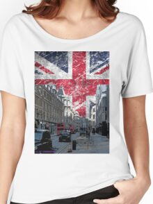 London union Jack Flag Women's Relaxed Fit T-Shirt