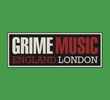 Grime music england london Kids Tee