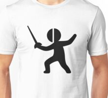 Sword Fencing Unisex T-Shirt