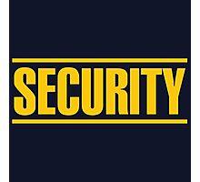 Security Photographic Print