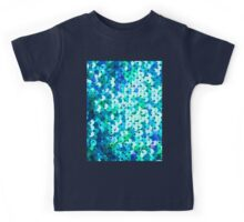 Beautiful sequins texture Kids Tee