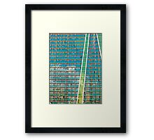 Apartment Colors Framed Print