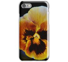 Glorious Gold Pansy  iPhone Case/Skin