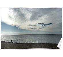 Nature and Man.......Lyme Regis Dorset  Poster