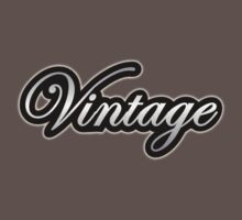 Vintage (old silver color) One Piece - Short Sleeve
