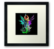 The Changeling Queen and King Framed Print