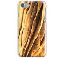 abstract textured paper design iPhone Case/Skin