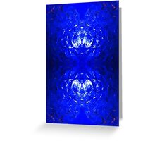 Ice texture Greeting Card