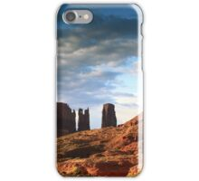 Morning Light in Monument Valley  iPhone Case/Skin