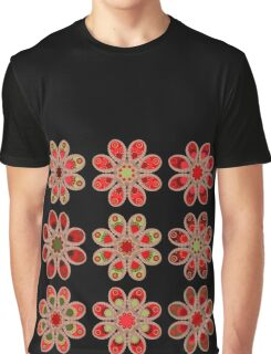 Bouquet of Roses Foot Flowers Graphic T-Shirt