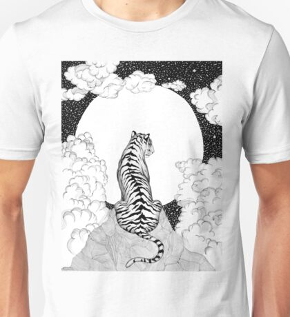 Tiger Moon Unisex T-Shirt