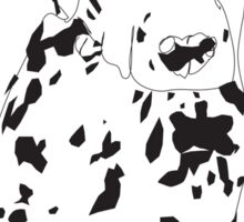 Dalmation Puppy Sticker