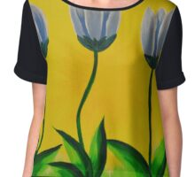Tiptoe Through the Tulips Chiffon Top