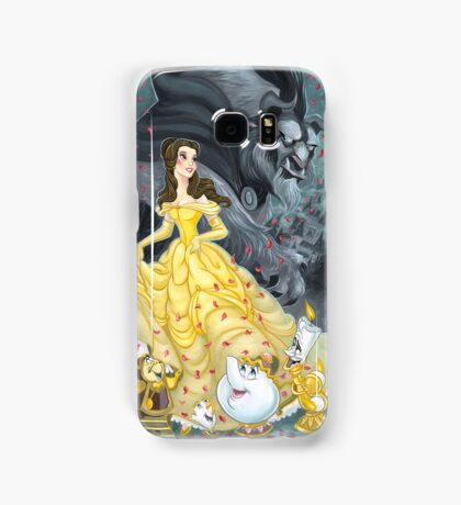 Beauty and the Beast Wallpaper Samsung Galaxy Case/Skin