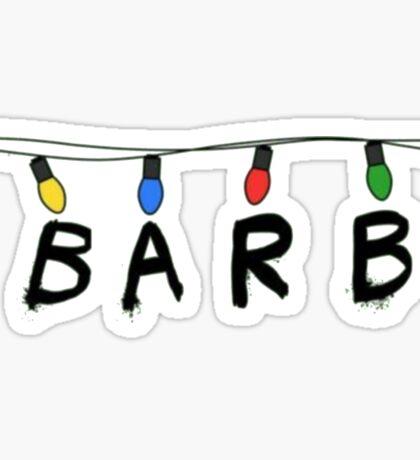 Barb Sticker