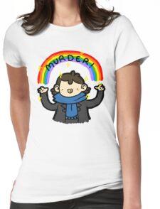 ~MURDER~ Womens Fitted T-Shirt
