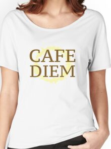Cafe Diem Women's Relaxed Fit T-Shirt