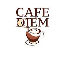 Cafe Diem Photographic Print