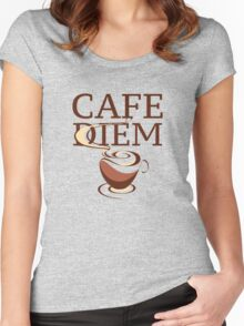 Cafe Diem Women's Fitted Scoop T-Shirt