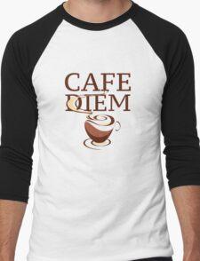 Cafe Diem Men's Baseball ¾ T-Shirt
