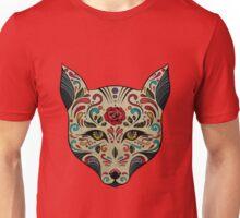 El gato de la Santa Muerte Unisex T-Shirt