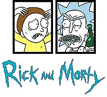 rick and morty Photographic Print