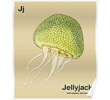 Jj - Jellyfruit // Half Jellyfish, Half Jackfruit Poster