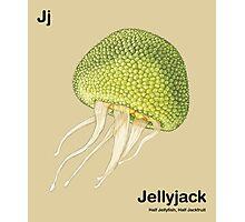 Jj - Jellyfruit // Half Jellyfish, Half Jackfruit Photographic Print