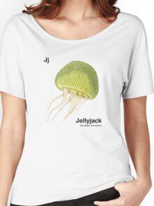 Jj - Jellyfruit // Half Jellyfish, Half Jackfruit Women's Relaxed Fit T-Shirt