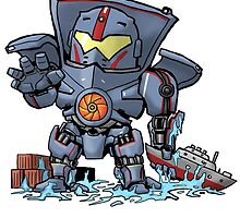 Gypsy Danger  by sharknob
