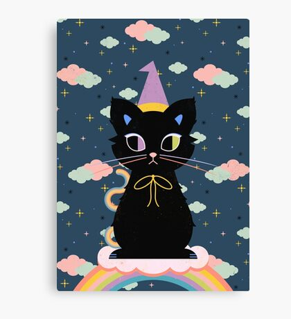 Rainbow Familiar  Canvas Print