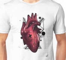 Heart - Stylish Beat (RED) Unisex T-Shirt