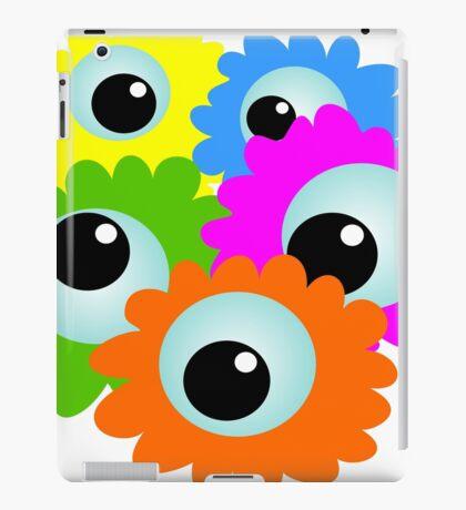 Wacky Cartoon Eyes iPad Case/Skin