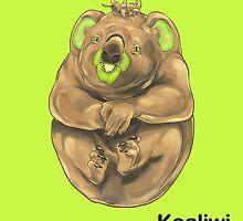 Kk - Koaliwi // Half Koala, Half Kiwifruit by bkkbros