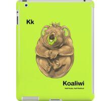Kk - Koaliwi // Half Koala, Half Kiwifruit iPad Case/Skin