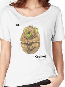 Kk - Koaliwi // Half Koala, Half Kiwifruit Women's Relaxed Fit T-Shirt