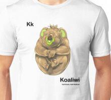 Kk - Koaliwi // Half Koala, Half Kiwifruit Unisex T-Shirt