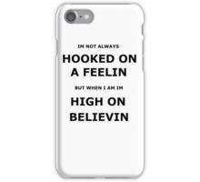 hooked on a feelin iPhone Case/Skin