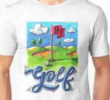 Golf course Unisex T-Shirt