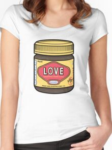A Jar of Love Women's Fitted Scoop T-Shirt