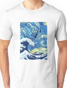 Tardis Great Wave Unisex T-Shirt